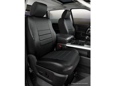 Black w//Gray Center Panel FIA SL62-66 Gray Custom Fit Rear Seat Cover Split Seat 60//40 Leatherette