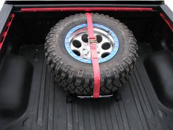 N-Fab Truck Bed Tire Carrier