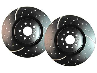 EBC Sport Dimpled and Slotted Brake Rotors
