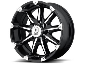 XD Series Black XD779 Badlands Wheels