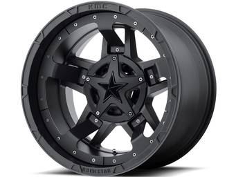XD Series Matte Black XD827 Rockstar III Wheels