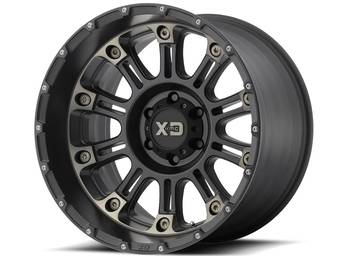 XD Series Black w/ Dark Tint XD829 Hoss 2 Wheels