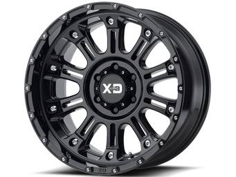 XD Series Black XD829 Hoss 2 Wheels