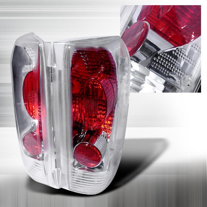 Spec-D Tuning LT-F15089-KS Chrome Tail Light Altezza