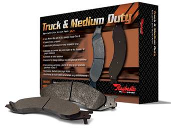 Raybestos Specialty Semi-Metallic Brake Pads