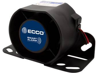 ECCO Switchable Volume Back-Up Alarm