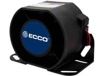 ECCO Single Frequency Back-Up Alarm